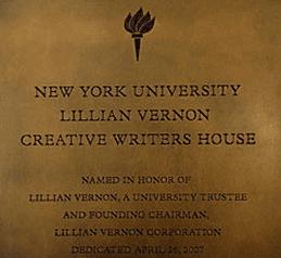Nyu writers house